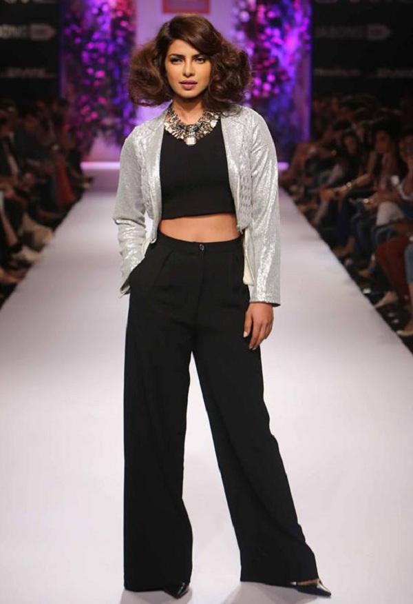 Lakme Fashion Week Winter/Festive 2014: Priyanka Chopra walks the ramp for Varun Bahl!