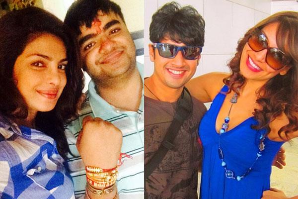 Priyanka Chopra and Bipasha Basu celebrate Raksha Bandhan - view pics!