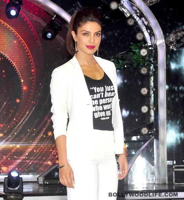 Why is Priyanka Chopra nervous?