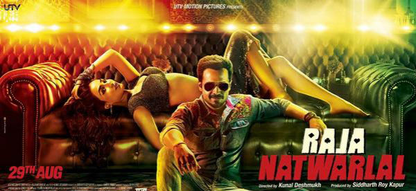 Raja Natwarlal new poster: Humaima Malick sizzles, while Emraan Hashmi looks a perfect conman!