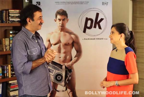 Rajkumar Hirani opens up about Aamir Khan's PK poster -  Watch video!