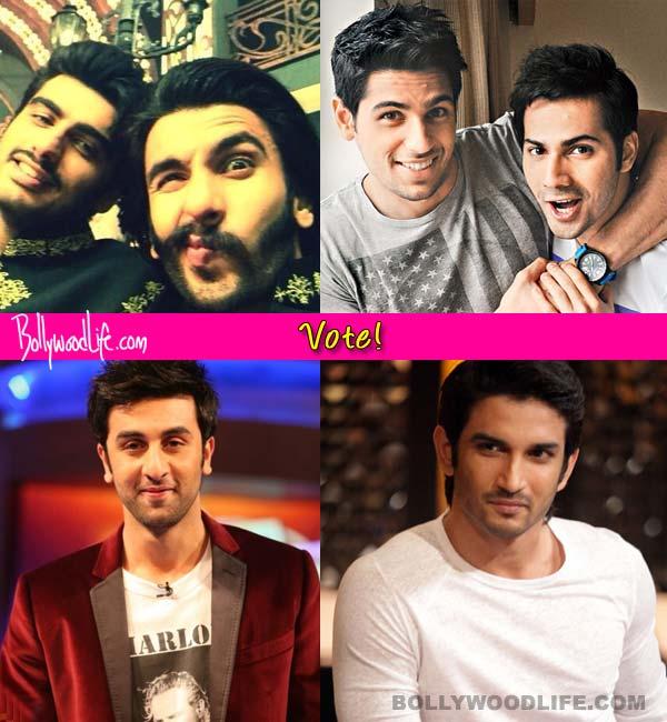 Arjun Kapoor-Ranveer Singh or Sidharth Malhotra-Varun Dhawan - who should be the new age Ram Lakhan? Vote!