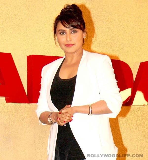 Rani Mukerji: I don't think Aditya Chopra wants me to slow down!