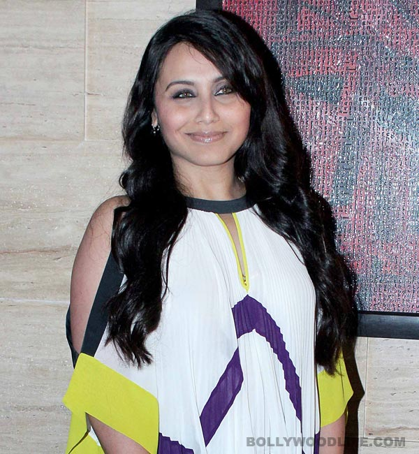 Rani Mukerji: I am ready to work during pregnancy if my director is ready!