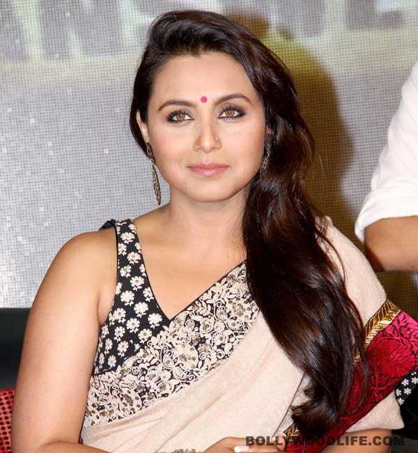 Rani Mukerji seeks blessings for Mardaani!