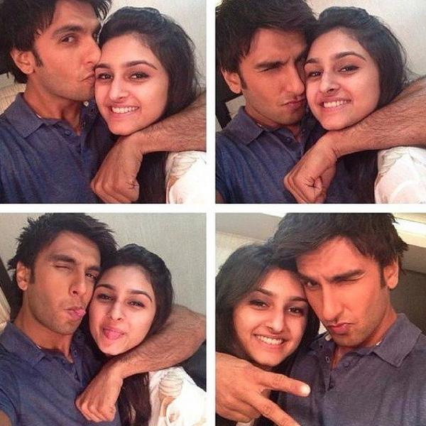 Who is the young girl posing for selfies with Ranveer Singh? View pic!