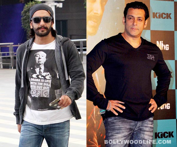 Ranveer Singh shoots back at Salman Khan, defends Sanjay Leela Bhansali!
