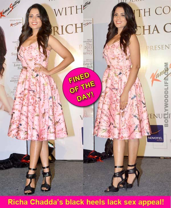 Richa Chadda, a failed princess in the making…