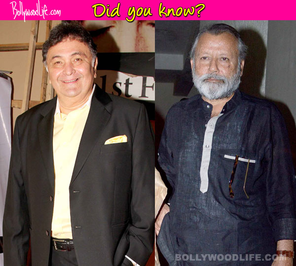 Did you know... Rishi Kapoor was the first choice over Pankaj Kapur for Finding Fanny!