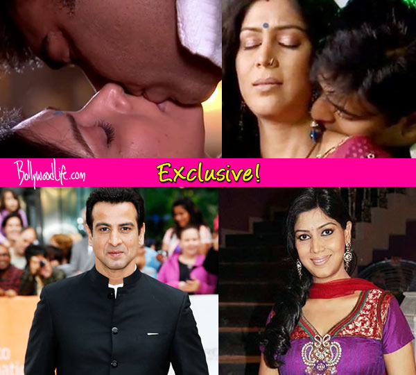 After kissing Ram Kapoor in Bade Acche Lagte Hain, Sakshi Tanwar to kiss Rohit Roy onscreen?
