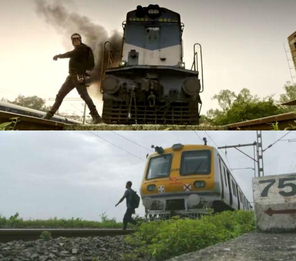 Fan performs Salman Khan's Kick train stunt in real life!- Watch video
