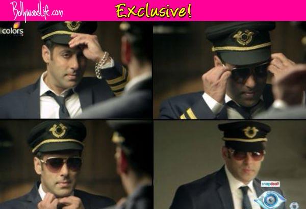 Revealed: The secret behind Salman Khan's pilot look in Bigg Boss 8!