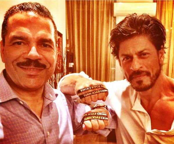 Shah Rukh Khan roped in as ambassador for Interpol's Turn Back Crime campaign-view pic!