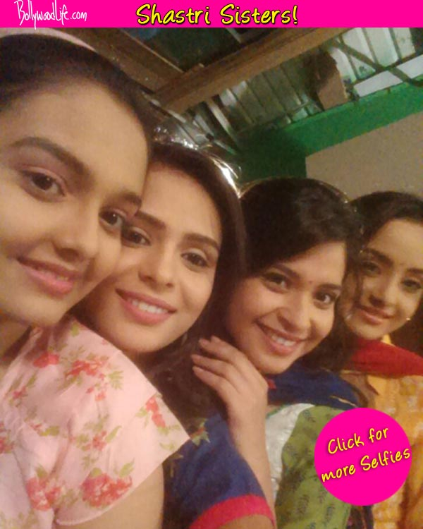 Shastri Sisters have a selfie moment off screen – View pics!
