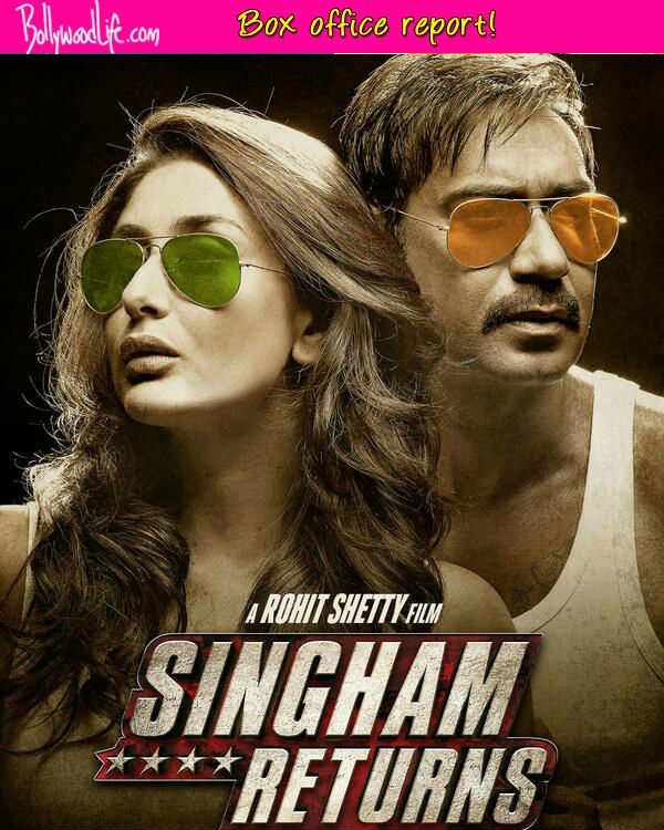 Singham Returns Box office collections: Ajay Devgn and Rohit Shetty's venture is the biggest opener of 2014, mints Rs 30 crore on first day!