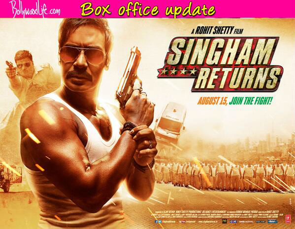 Singham Returns box office collection: Ajay Devgn's action flick earns Rs 107.12 crore