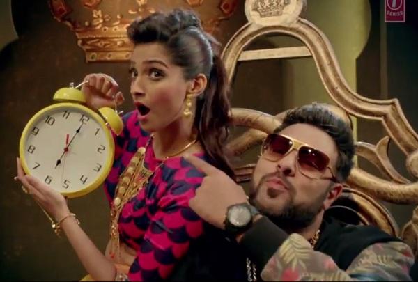 Khoobsurat song Abhi toh party shuru hui hai: Sonam Kapoor and Badshah rock this party anthem