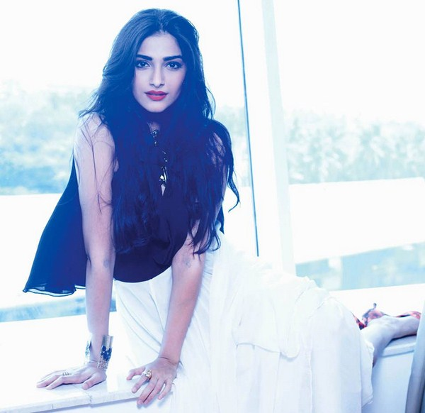 Who was Sonam Kapoor's special guest at her private dinner party?
