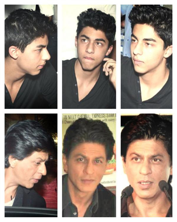 Shah Rukh Khan's son Aryaan looks exactly like him!