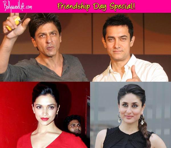 Friendship Day special: Aamir Khan-Shah Rukh Khan, Kareena Kapoor-Deepika Padukone - Celebs who should patch up