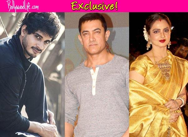 Apart from Aamir Khan, Mardaani actor Tahir Raj Bhasin impresses Rekha and Nimrat Kaur