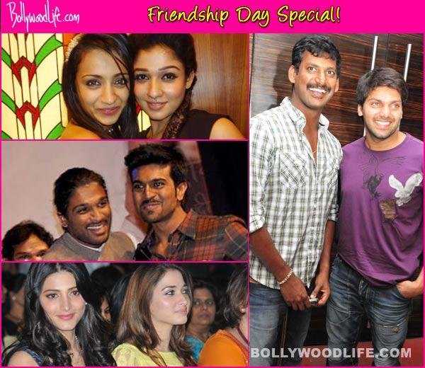 Friendship's Day Special: Ram Charan-Allu Arjun, Trisha-Nayantara, Vishal-Arya - Besties of South Indian cinema!