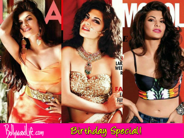 Birthday special: 5 hottest magazine covers of Jacqueline Fernandez this year