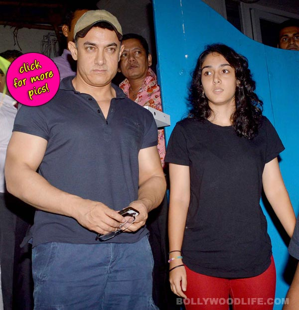Aamir Khan spends quality time with daughter Ira Khan-view pics!