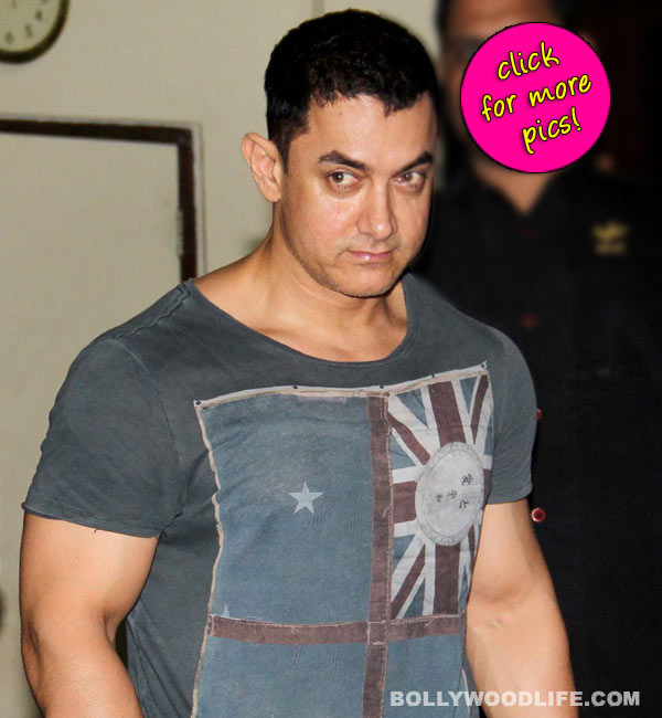 Has Aamir Khan become the muscle man of B-town again? View pics!