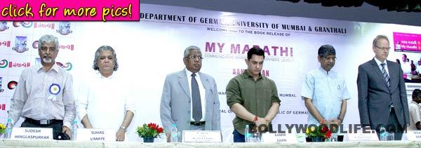 Aamir Khan launches book My Marathi-view pics!