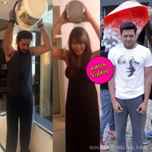 ALS Ice Bucket Challenge: Riteish Deshmukh, Bipasha Basu, Sania Mirza dump ice water over their heads!