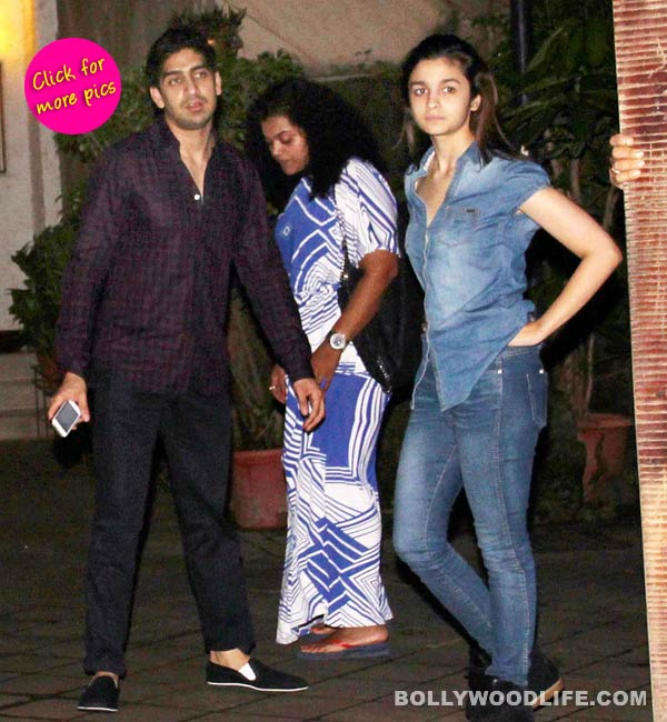 Alia Bhatt and Ayan Mukerji spotted hanging out together- View pics!