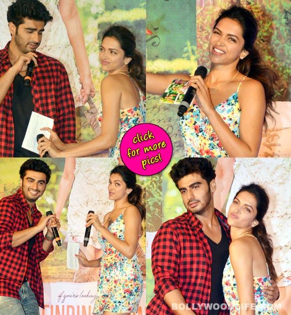 The many moods of Arjun Kapoor and Deepika Padukone!