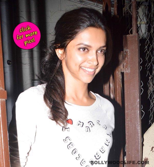 Deepika Padukone sports a sweatshirt worth Rs 12,000