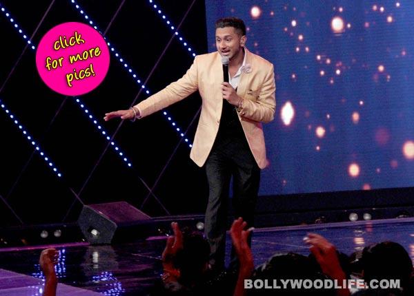 India's Raw Star: A sneak peak at Yo Yo Honey Singh on the sets of the show-view pics!