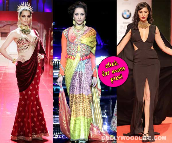India Bridal Fashion Week 2014: Kangana Ranaut, Nargis Fakhri and Shraddha Kapoor dazzle on the runway!