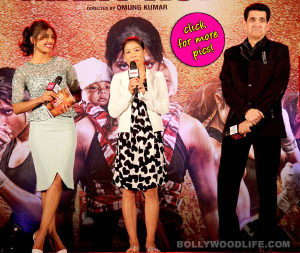 Priyanka Chopra launches Mary Kom's music- View pics!