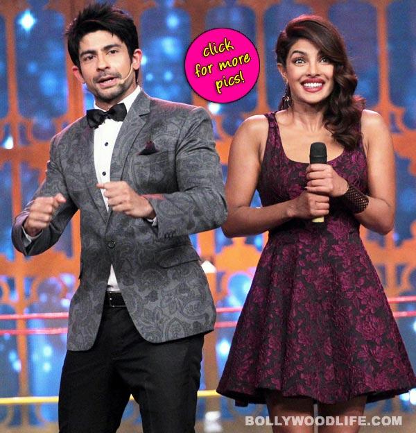 Cine Stars Ki Khoj: Priyanka Chopra promotes Mary Kom in a sexy Alive + Olivia dress-view pics!