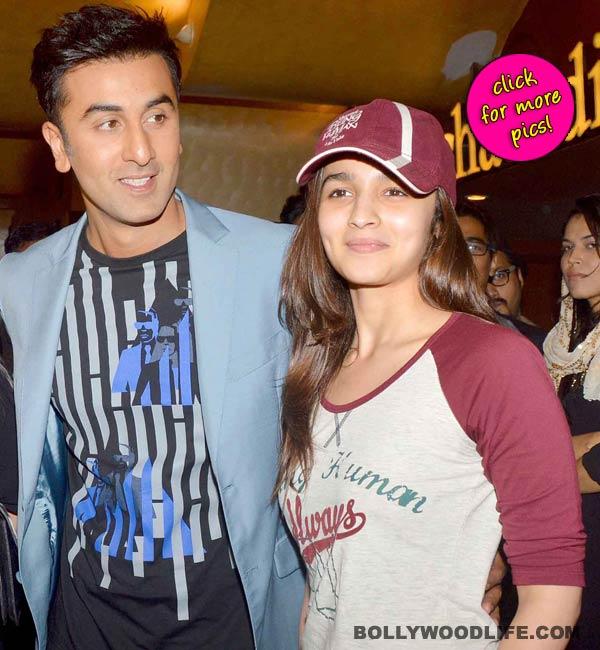 Ranbir Kapoor and Alia Bhatt spotted at short film festival Shuruaat Ka Interval-view pics!