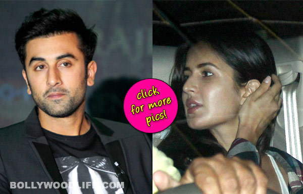 Spotted: Ranbir Kapoor and Katrina Kaif out and about!