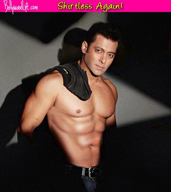Salman Khan goes shirtless for Prem Ratan Dhan Payo!