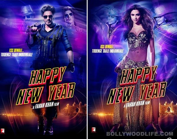 Happy New Year latest posters: Shah Rukh Khan, Deepika ...