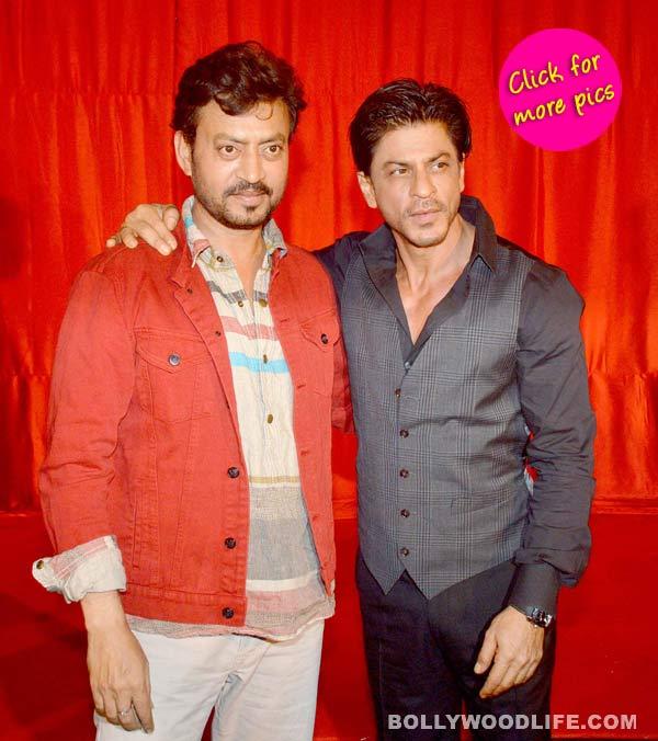 Shah Rukh Khan roots for Ekkees Toppon Ki Salaami team-view pics!