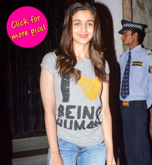 Alia Bhatt supports Salman Khan - view pics!