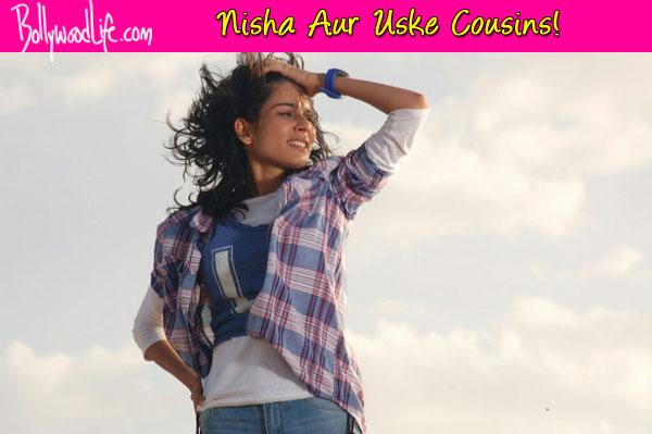 Nisha Aur Uske Cousins: Aneri Vajani performs a daredevil stunt for the show - View pics