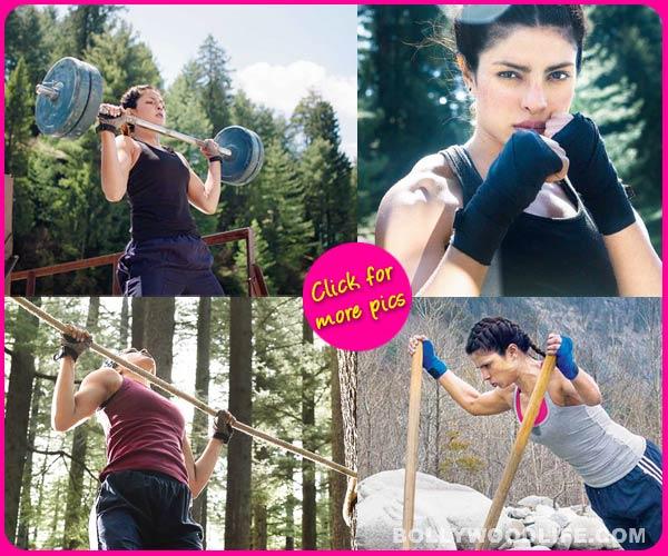 Priyanka Chopra took 90 days to attain a boxer's body – view pics!
