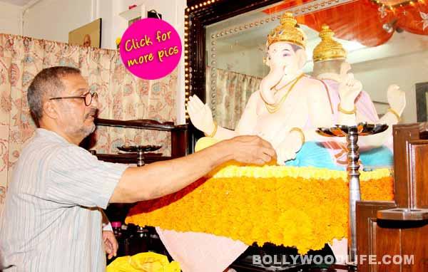 Ganeshotsav 2014: Nana Patekar celebrates Ganpati!