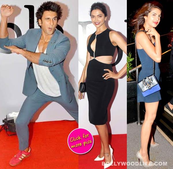 Ritesh Sidhwani birthday bash: The goofy Ranveer Singh, stylish Deepika Padukone and sexy Priyanka Chopra-view pics!