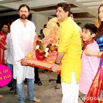 Ganesh Visarjan 2014: Sonali Bendre bids adieu to Ganpati – View pics!