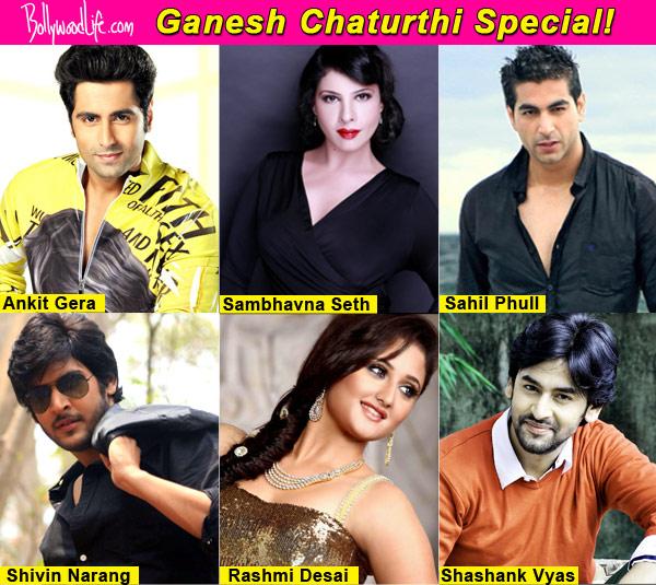 Ganesh Chaturthi 2014: Shivin Narang, Rashmi Desai, Shashank Vyas reveal their wishes